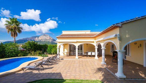 Imagen: Vista general de casa  de vacaciones en Jávea - Aguila Rent a Villa