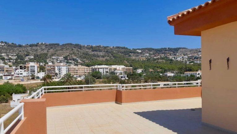Vistas desde un ático dúplex en venta en Jávea - MORAGUESPONS Mediterranean Houses