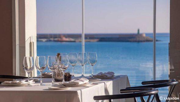 Image: Vues méditerranéennes du restaurant Noray à Jávea