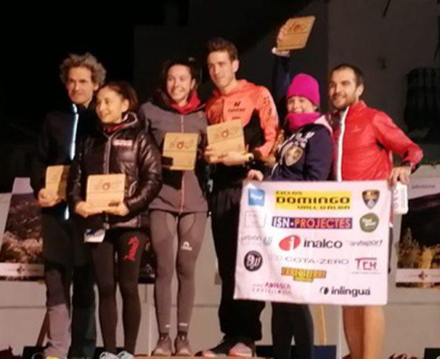 Imagen: Alván en el podio