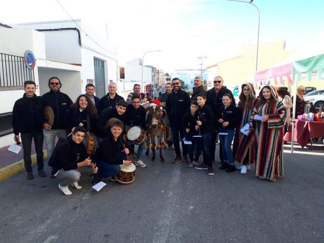 Bild: Die Colla Llebetjà mit der Burreta