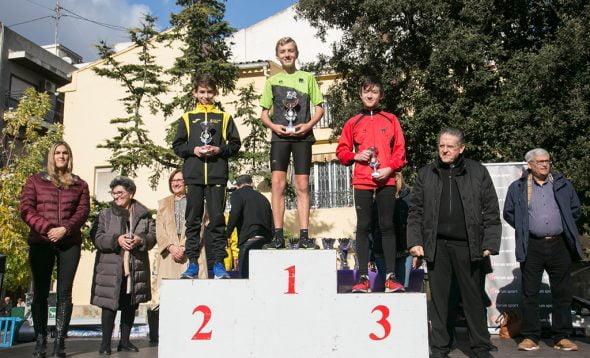 Imagen: Carlos González en lo alto del podio