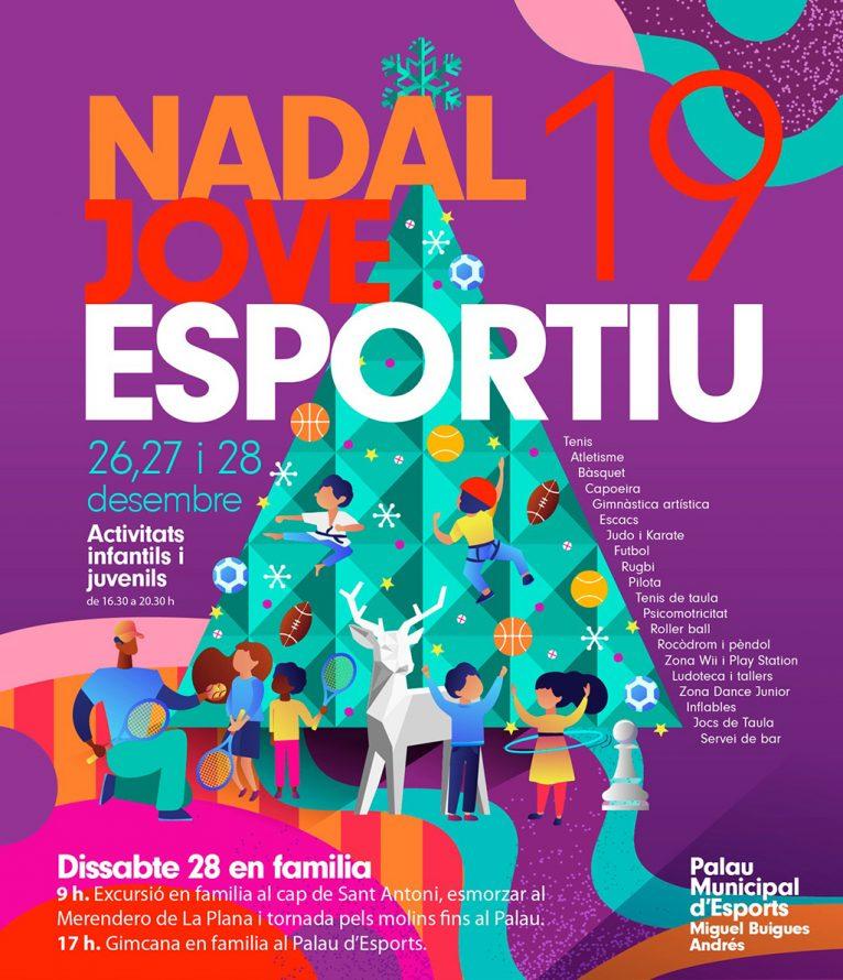 Cartel de Nadal Jove Esportiu 2019