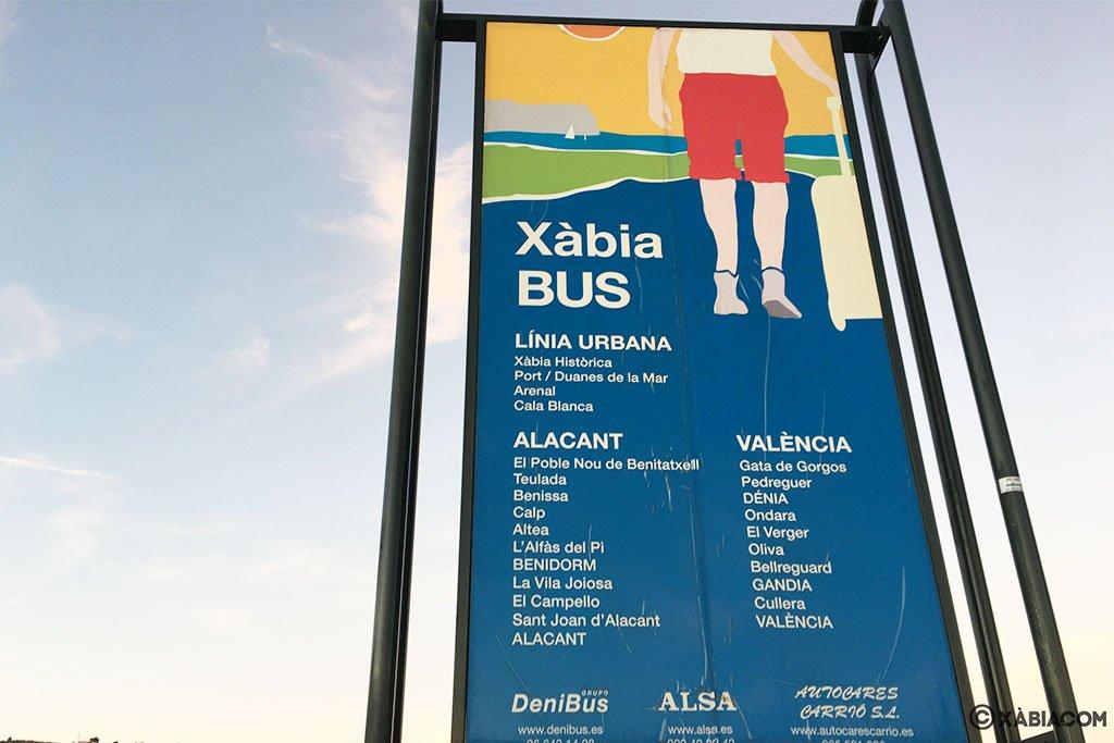 cartel-xabia-bus-linia-urbana-alacant-valencia