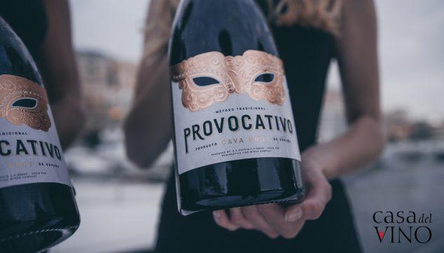 Imagen: Mega Cesta de Navidad 2019 - Casa del Vino - Cava Provocativo (valorado en 39 euros)