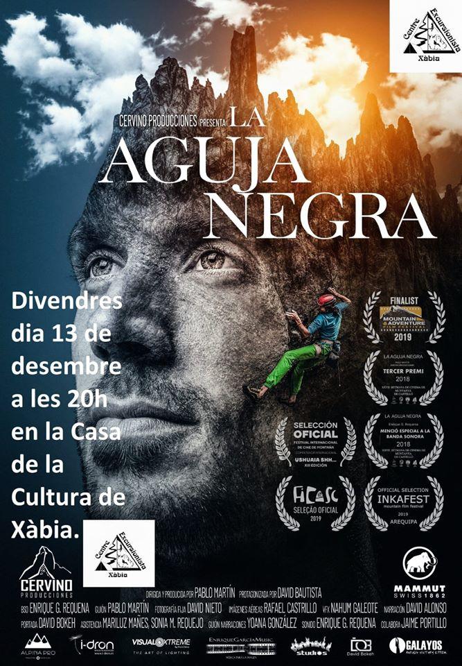 Cartel de la proyección del documental por el Día de la Montañas