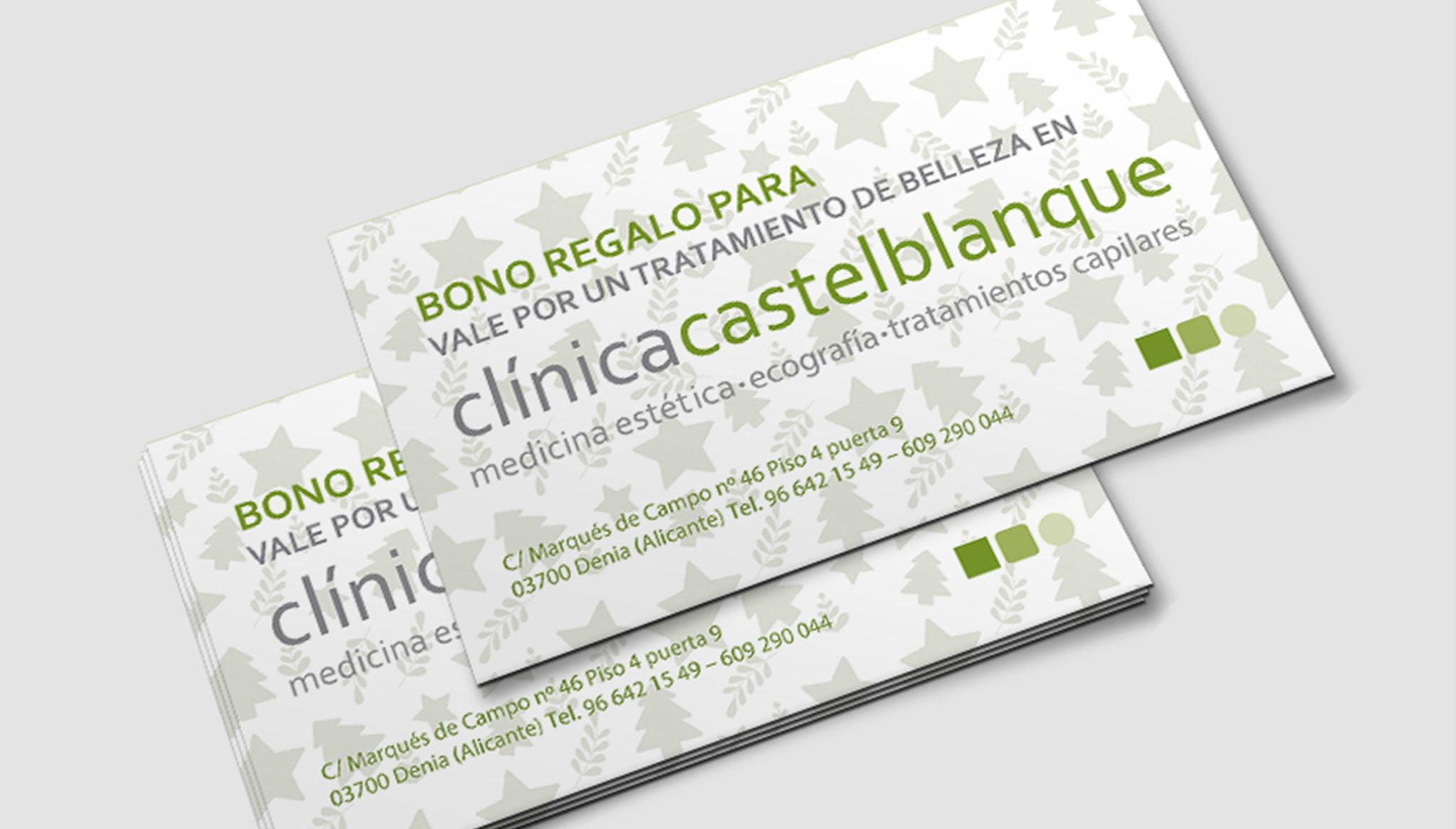 Clínica Estética Castelblanque – Bono regalo para un tratamiento médico estético personalizado