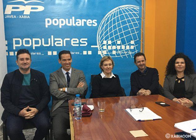 Imatge: Regidors de el Partit Popular fan balanç de la gestió política de 2019
