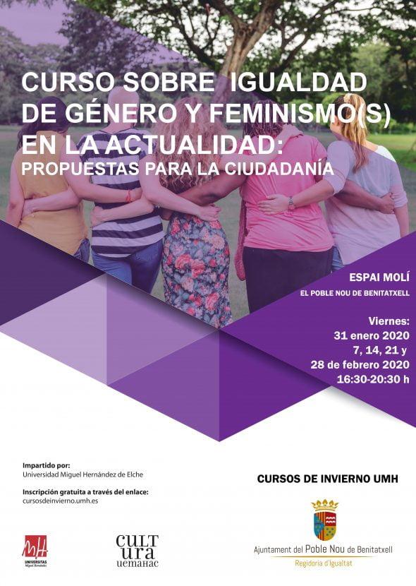 Bild: 2020 Benitatxell Feminismuskurs