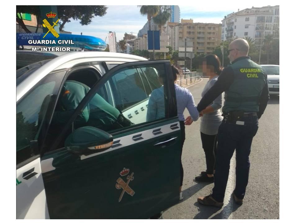 Detingudes per robatori al mes de novembre