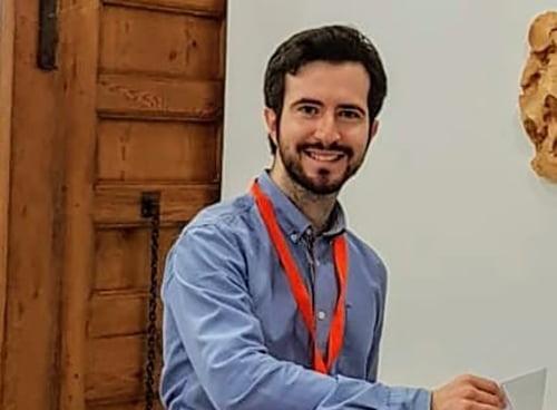 Immagine: Enrique Escrivá, portavoce dei cittadini
