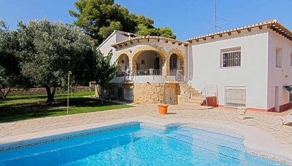 Imatge: Exterior d'un xalet en venda a Xàbia - MORAGUESPONS Mediterranean Houses