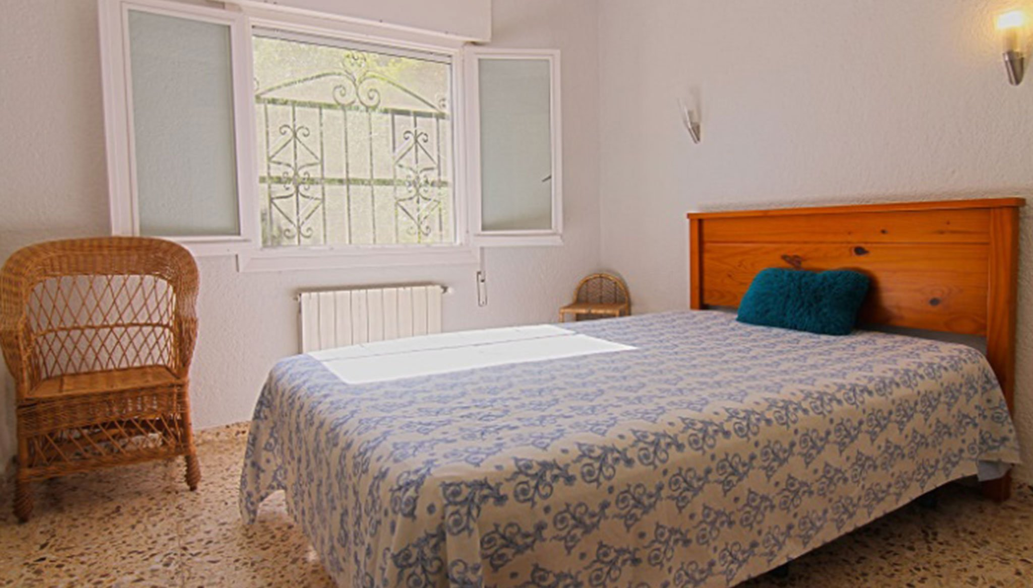 Eines der vier Zimmer einer Villa zum Verkauf in Jávea - MORAGUESPONS Mittelmeerhäuser
