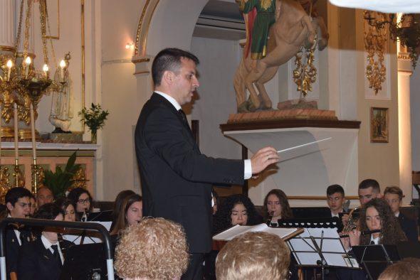 Imagen: Héctor Buigues, nuevo director de la Agrupación  musical de Benitatxell