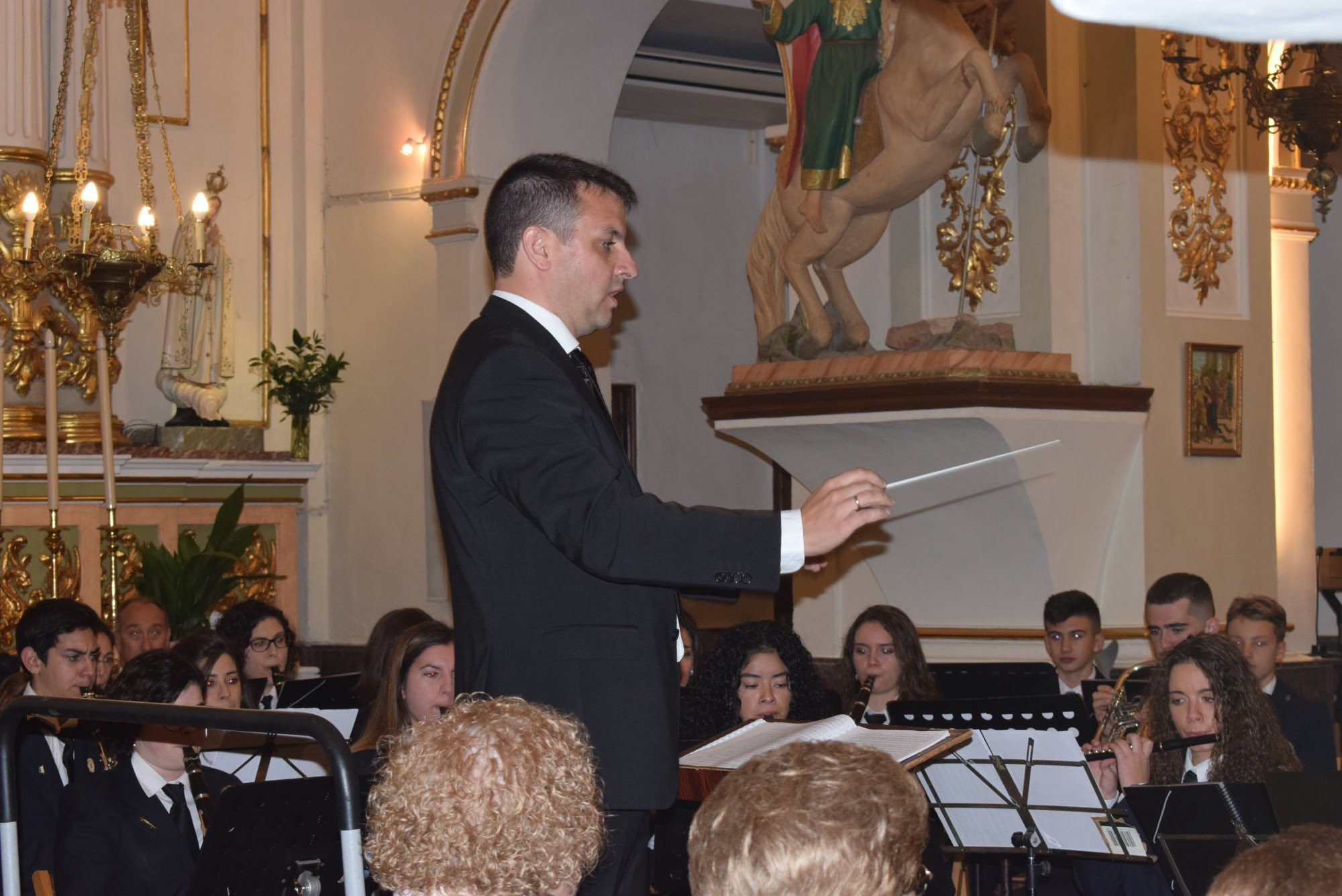 Héctor Buigues, nuevo director de la Agrupación  musical de Benitatxell