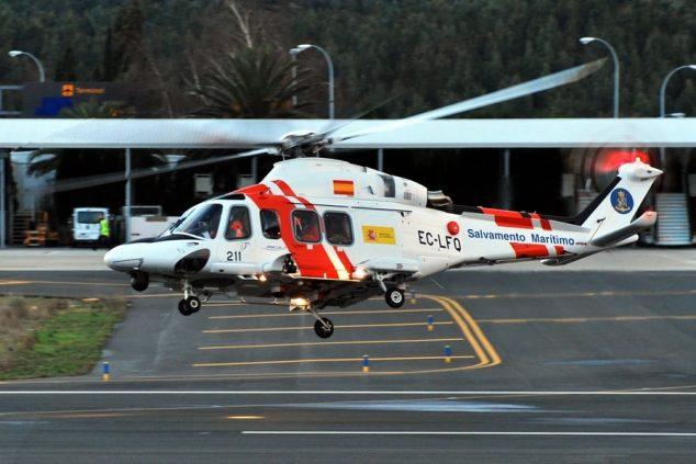 Imagem: Helicóptero de emergência