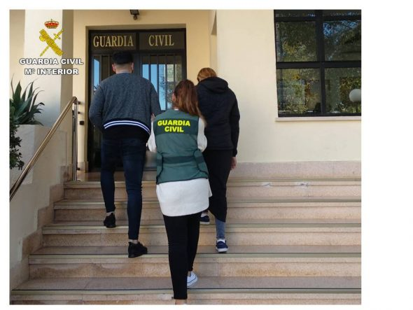 Imatge: Germans detinguts al desembre a Calp per robatori