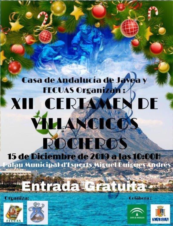 Imatge: Invitació XII Certamen Nadales Rocieros