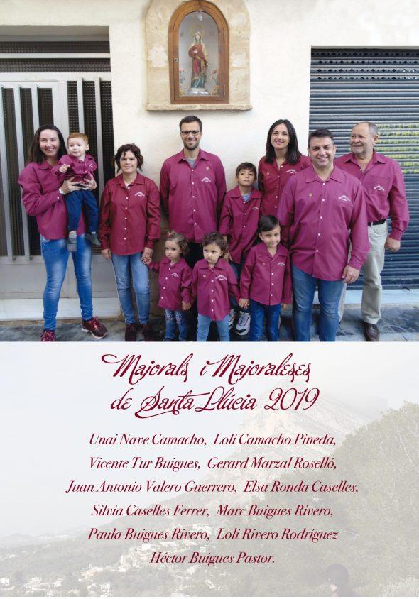 Imagen: Mayorales Santa Llúcia 2019