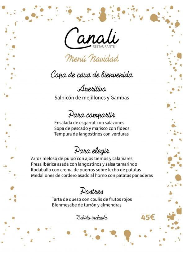 Imagen: Menú de Navidad y Año Nuevo - Restaurante Canali