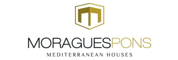 Imatge: Logotip MORAGUESPONS Mediterranean Houses