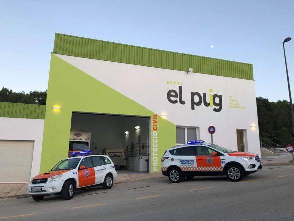 Imagen: Nueva sede de Protección Civil Benitatxell