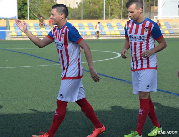 Imagen: Paco y Paolo jugadores del CD Jávea