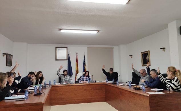 Imagen: Pleno 19 de diciembre en El Poble Nou de Benitatxell