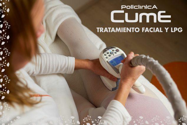 Imagen: Mega Cesta de Navidad de 2019 - Policlínica CUME - Tratamiento facial y LPG