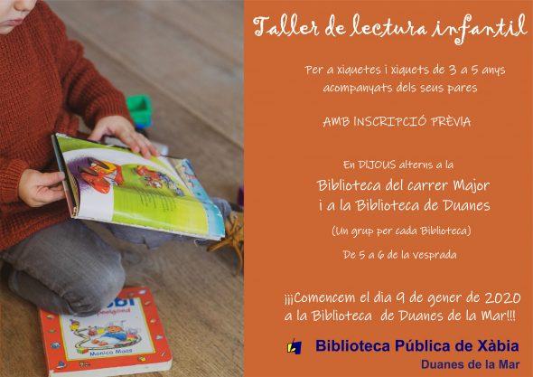 Image: Atelier de lecture à Xàbia
