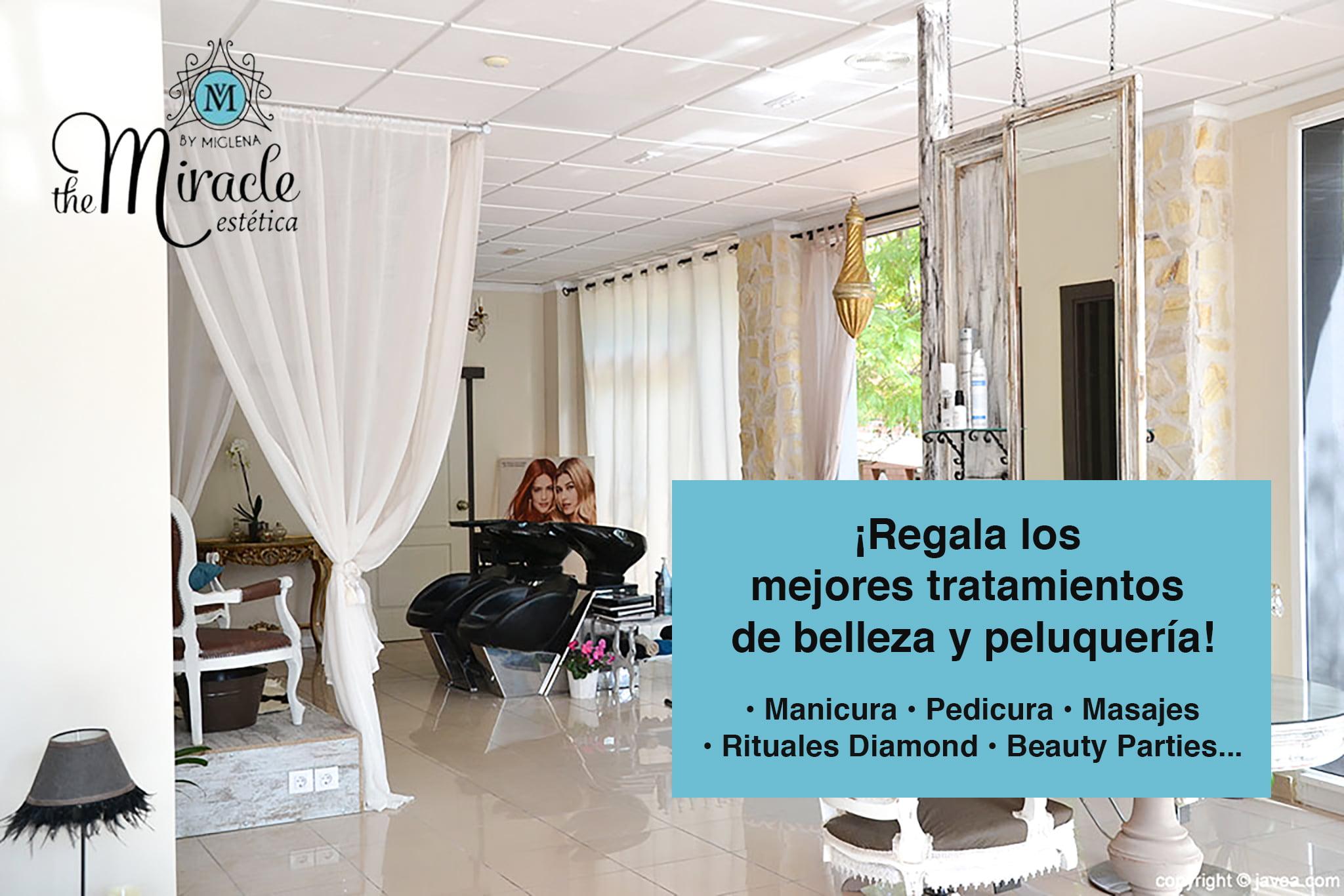 The Miracle - Regala un dels seus tractaments de bellesa i perruqueria