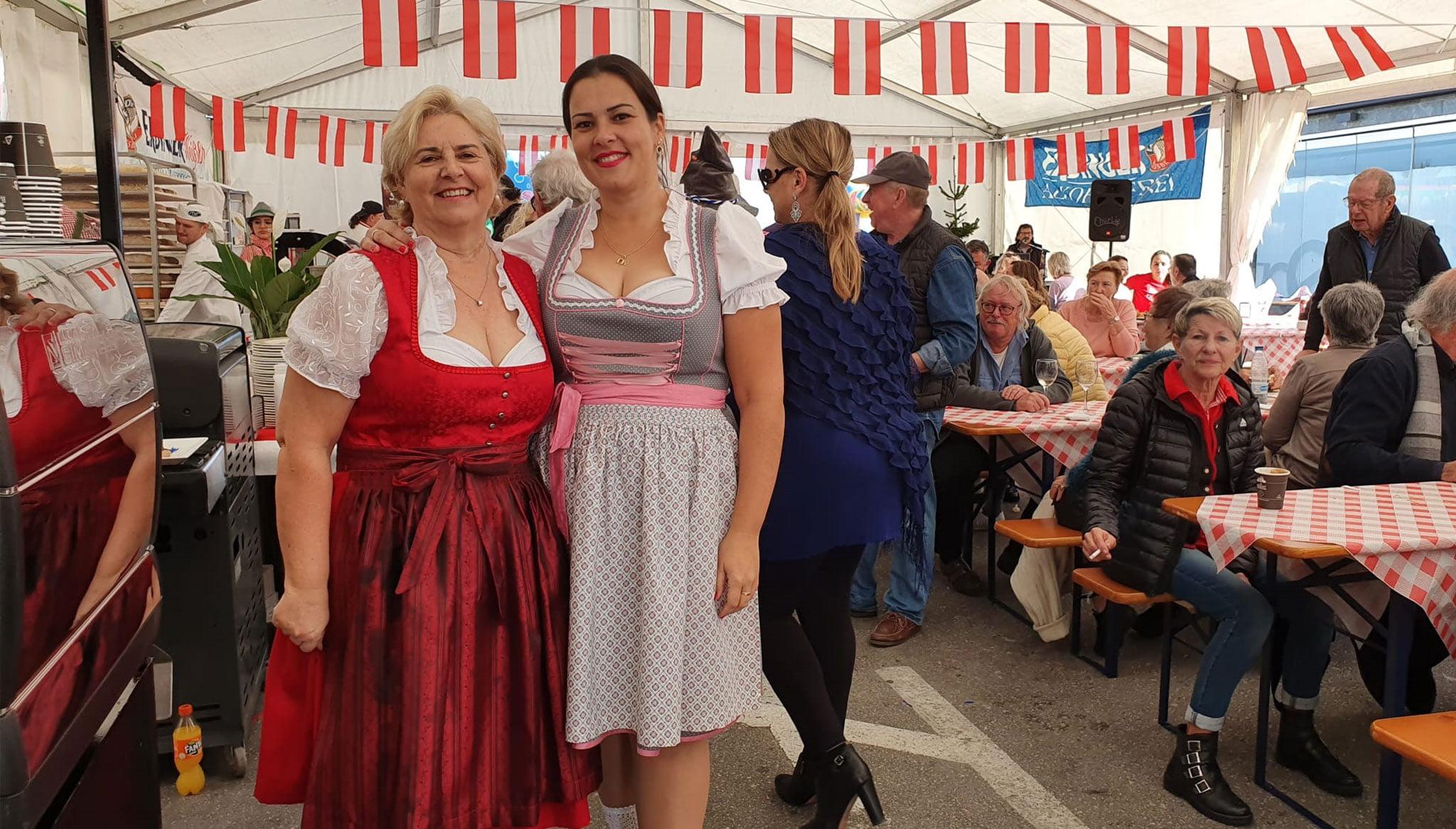 Nell'austriaco Café Wien conservano fedelmente le loro tradizioni