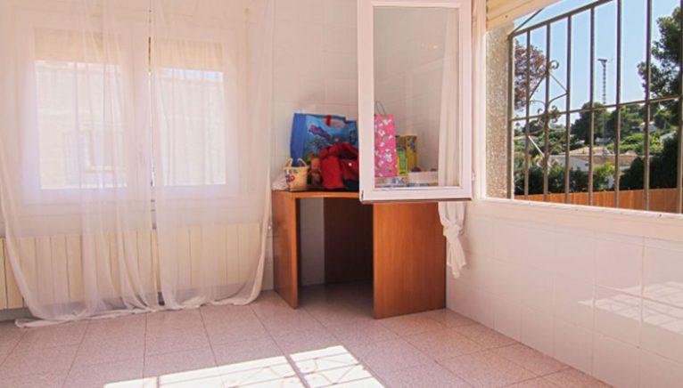 Fenster in einer Villa zum Verkauf in Jávea - MORAGUESPONS Mediterrane Häuser