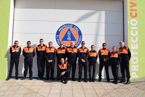 Imagen: Voluntarios de Protección Civil Poble Nou de Benitatxell