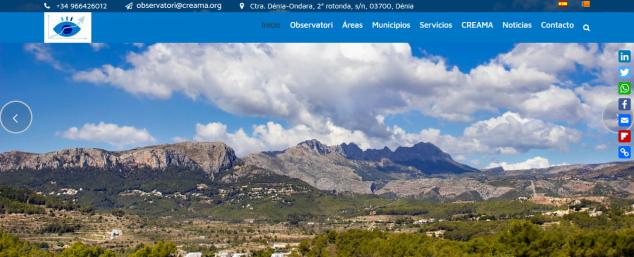 Imagen: Web del Observatori Marina Alta