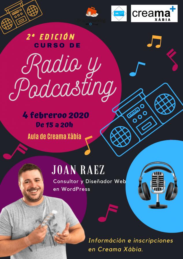 Imagen: 2º edición curso Radio y Pod casting 2020
