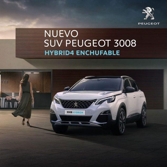 Imagen: Peugeot 3008 híbrido enchufable - Peumóvil