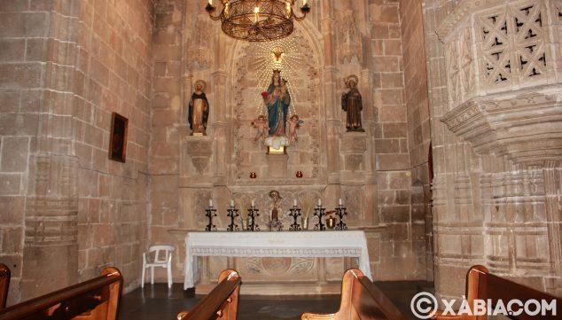 Image: Chapelle latérale de l'église de San Bartolomé de Jávea