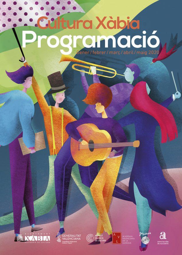 Imagen: Cartel del primer cuatrimestre cultural 2020