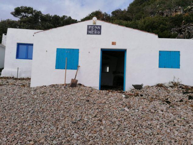 Imatge: Casa de la Barraca afectada per l'entrada de grava
