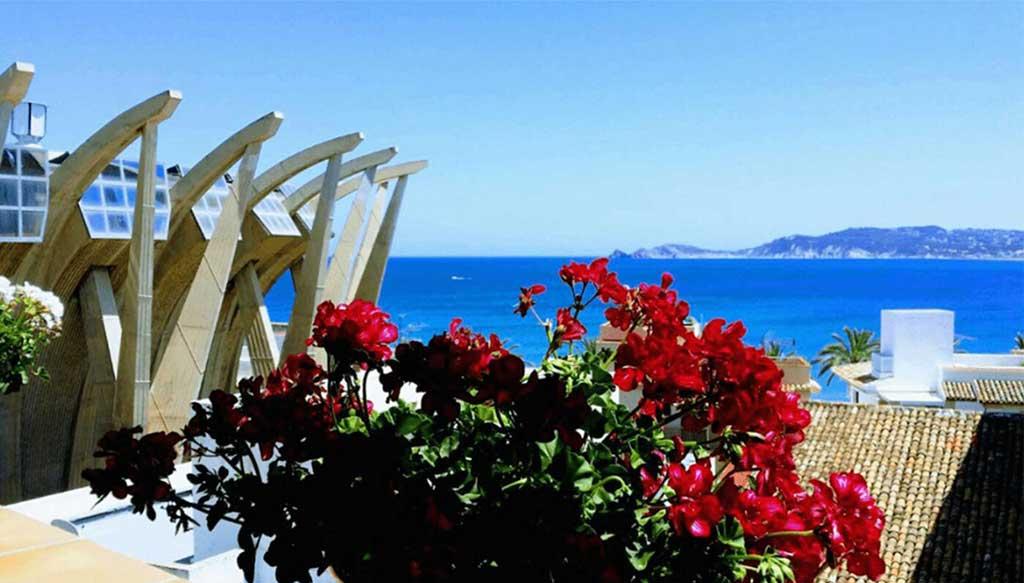 Casa de poble al port de Xàbia amb increïbles vistes - Terramar Costa Blanca
