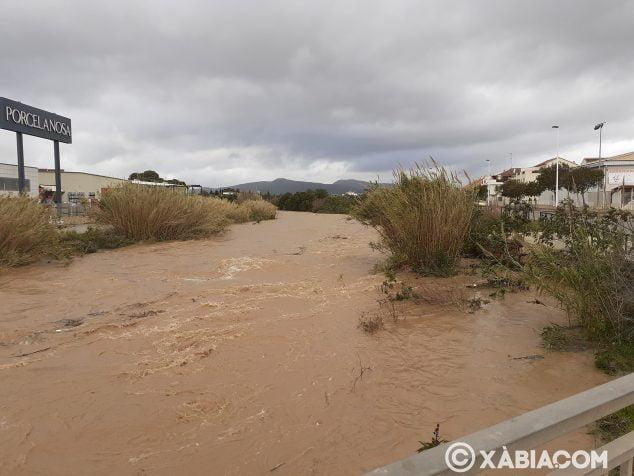 Imagen: Caudal del río Gorgos