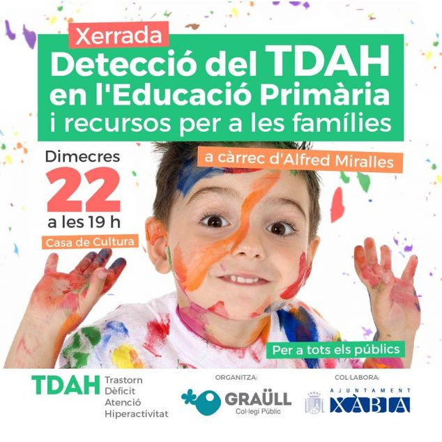 Imagen: Charla sobre la detección del TDAH organizada por el AMPA del Graüll