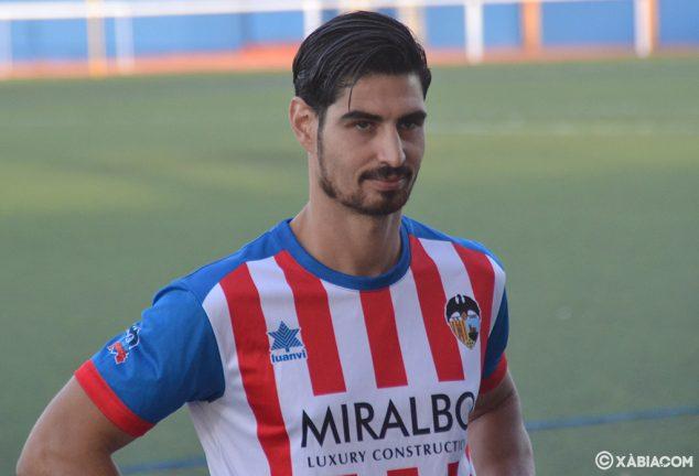 Imagen: Cristian de Luis jugador del CD Jávea