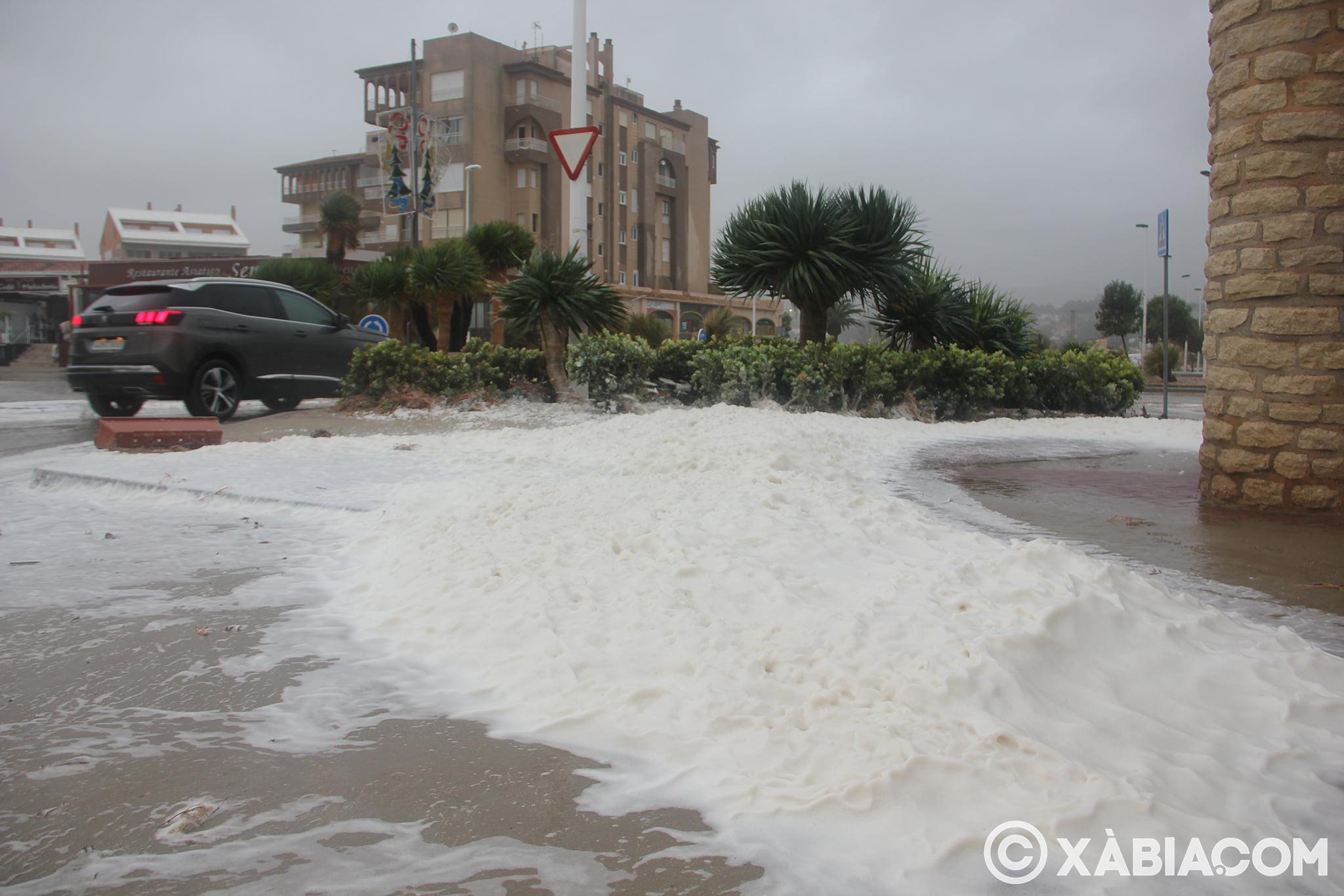 Pluie, vent et tempête de mer déchiquetés à Xàbia (32)