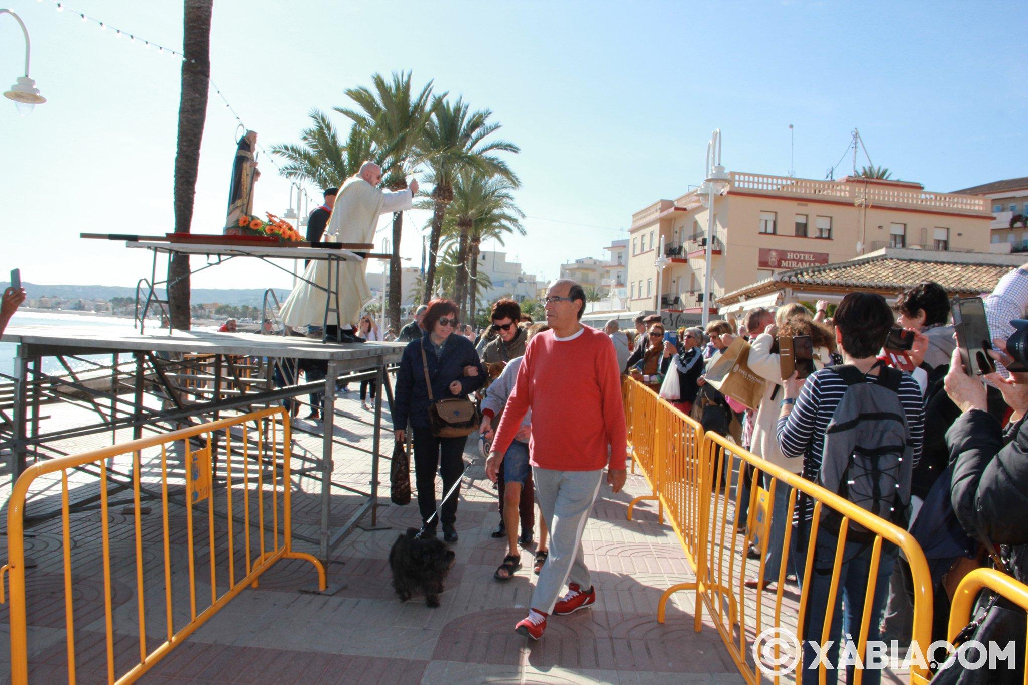 Dia de Sant Antoni. Benedicció d'animals en Duanes de la Mar (15)