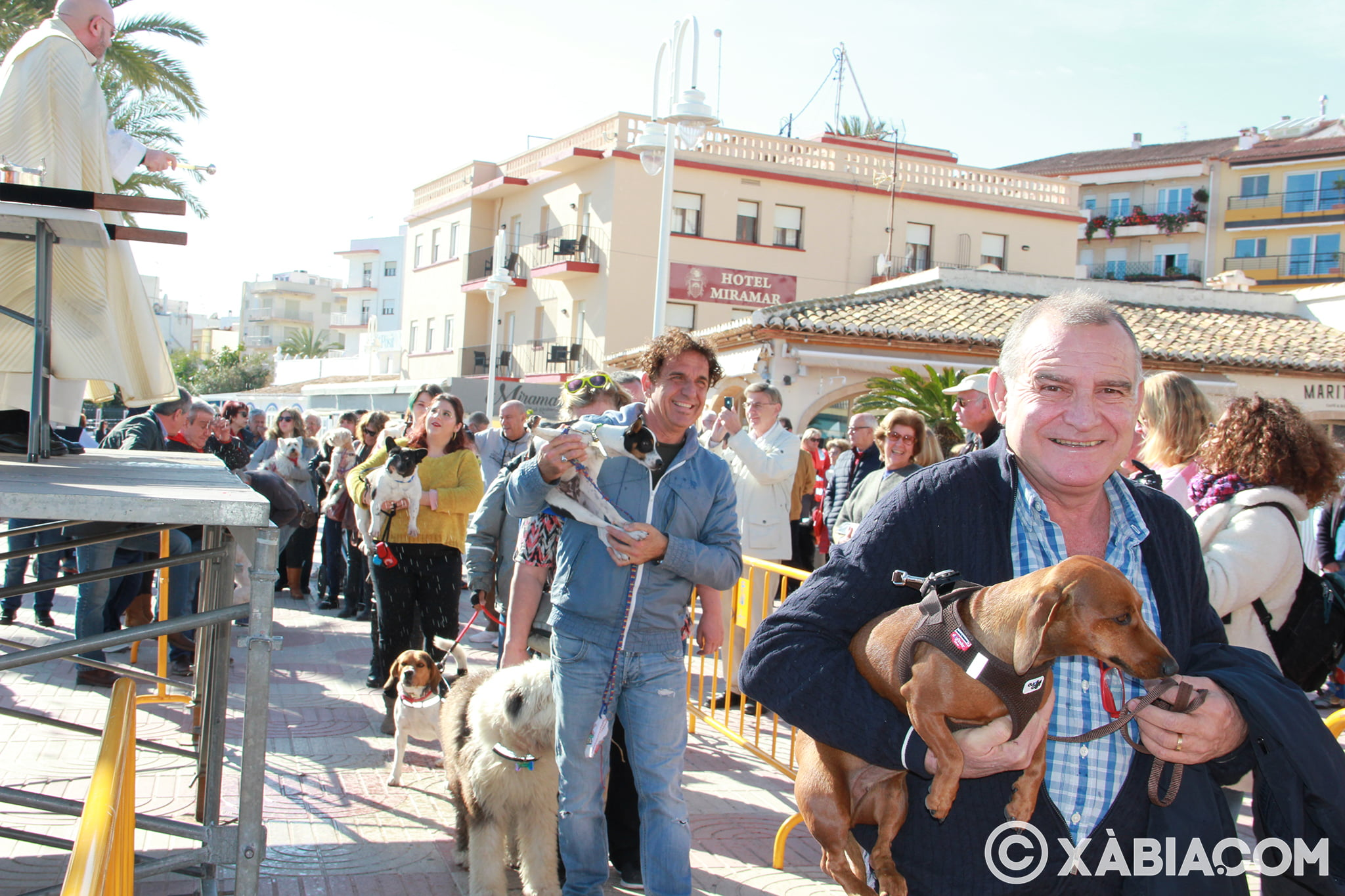 Dia de Sant Antoni. Benedicció d'animals en Duanes de la Mar (16)
