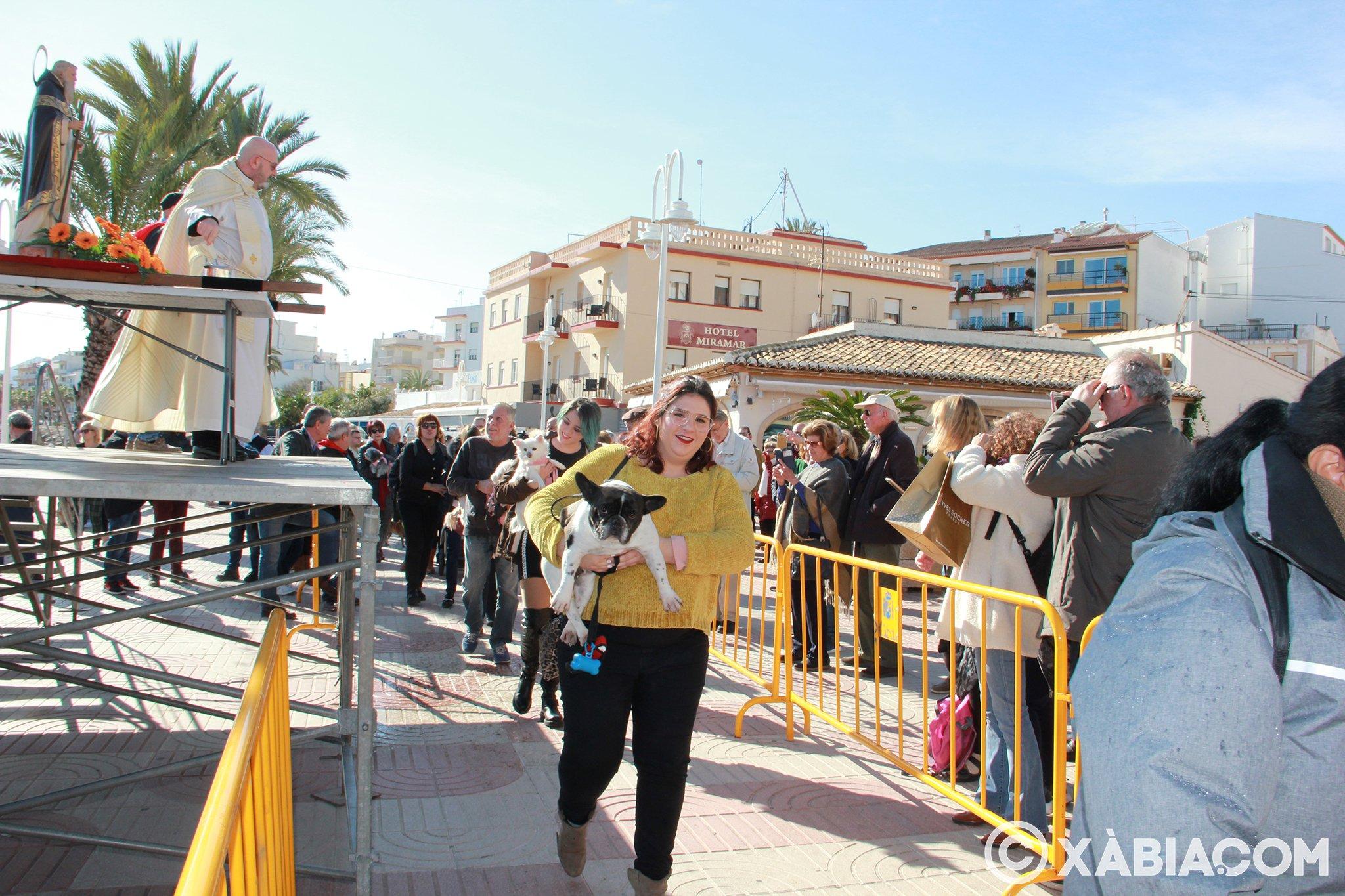 Dia de Sant Antoni. Benedicció d'animals en Duanes de la Mar (18)