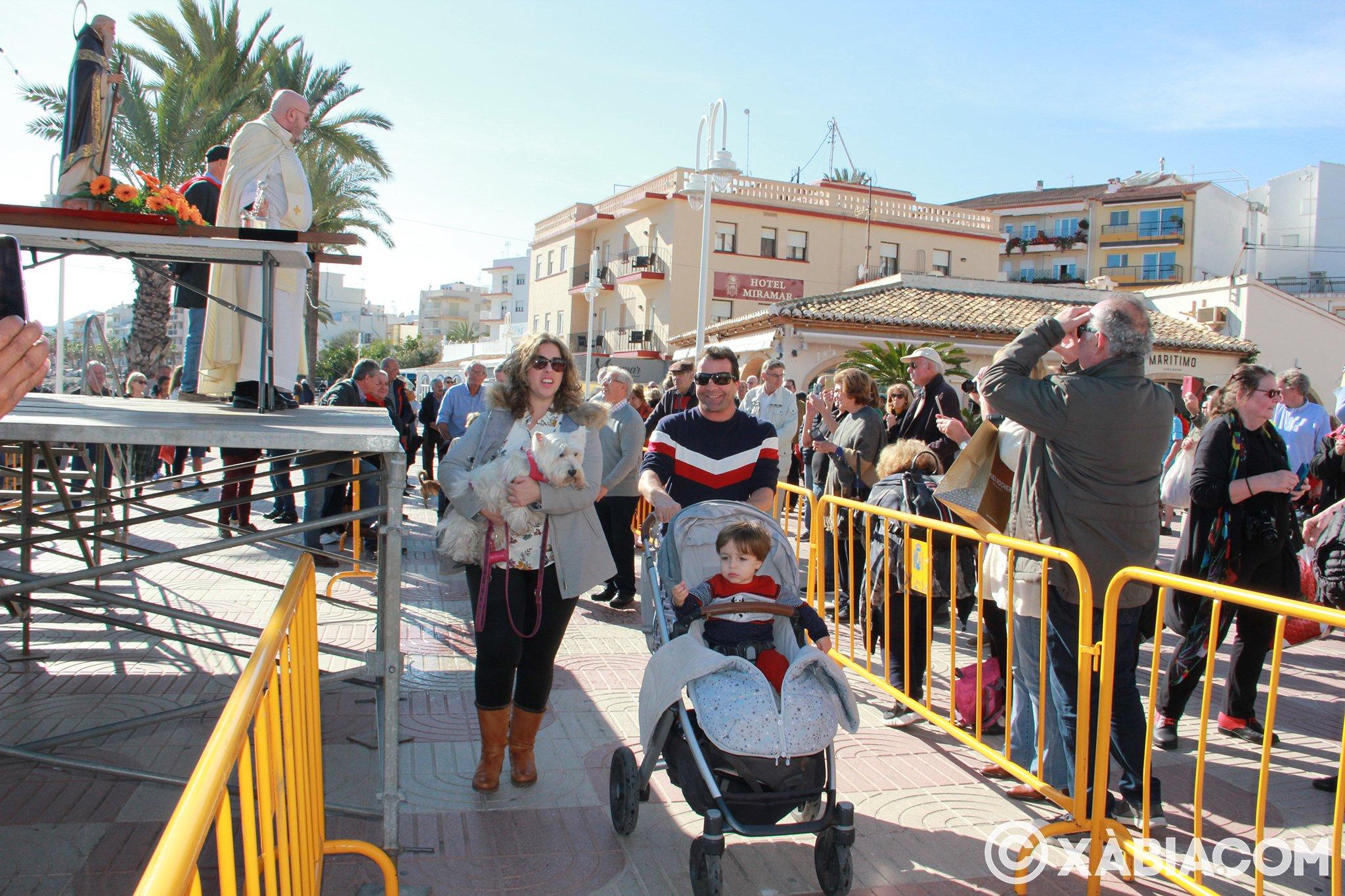 Dia de Sant Antoni. Benedicció d'animals en Duanes de la Mar (21)