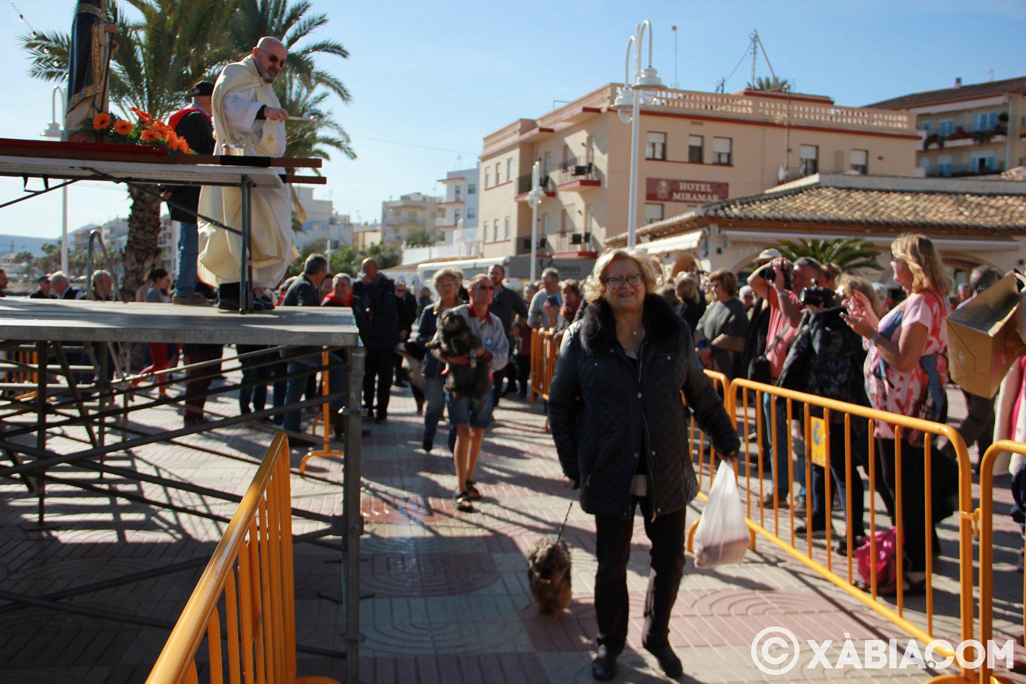 Dia de Sant Antoni. Benedicció d'animals en Duanes de la Mar (25)